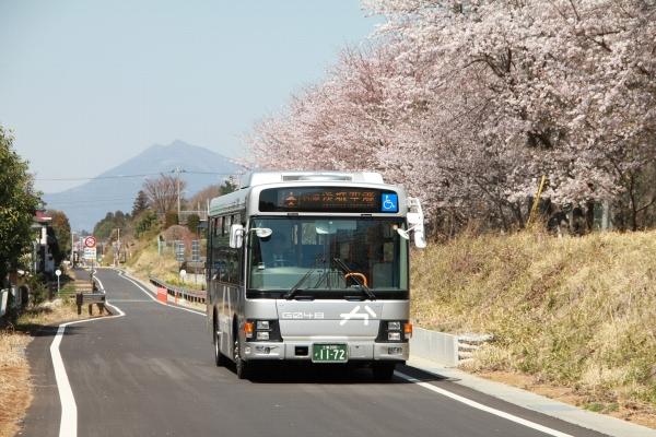 画像:鹿島鉄道跡地バス専用道化事業(かしてつバス)