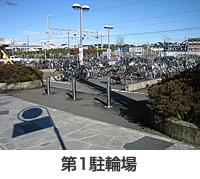 画像:第1駐輪場