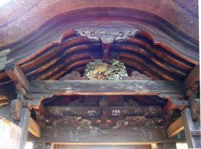画像:旧千手院山門