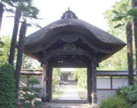 画像:旧千手院山門2