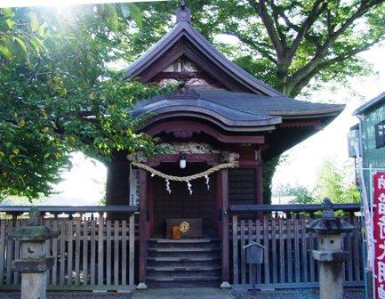 画像:若宮八幡神社本殿