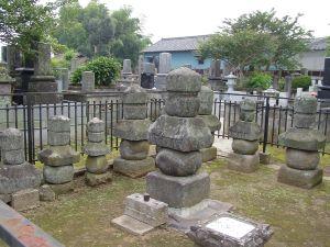画像:常陸大掾氏墓所