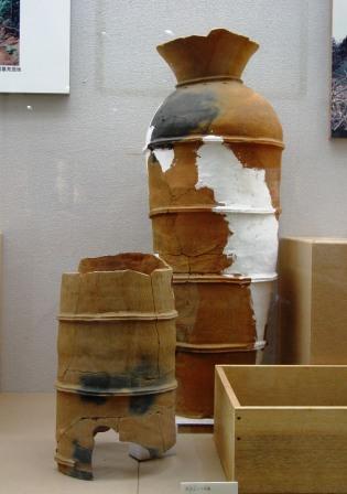 画像:舟塚山古墳の埴輪