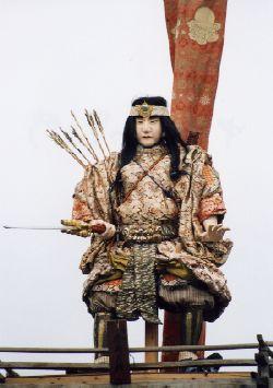 画像:中町の山車人形「日本武尊」1体