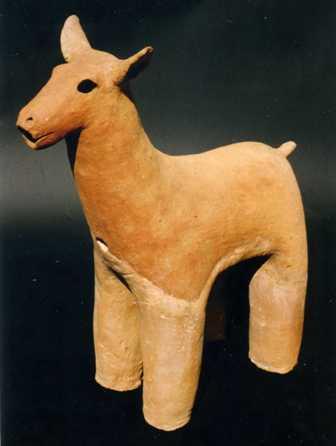 画像:鹿(埴輪)