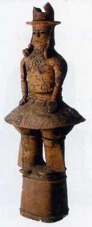画像:埴輪男子像