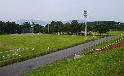 画像:八郷総合運動公園全体