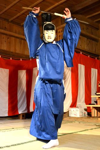 画像:(4)剣の舞