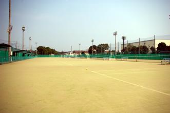 画像:柏原テニスコート01