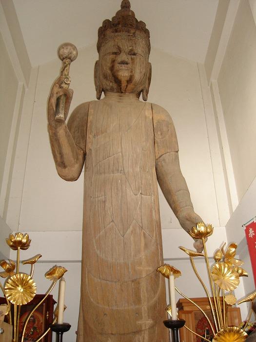 画像:木造立木観音菩薩-歴史と記憶