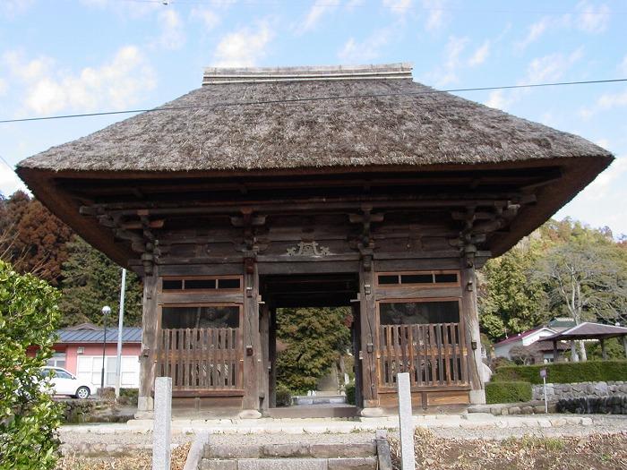 画像:善光寺楼門
