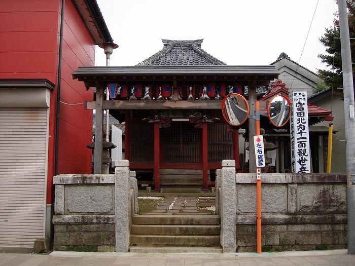 画像:富田北向観音堂