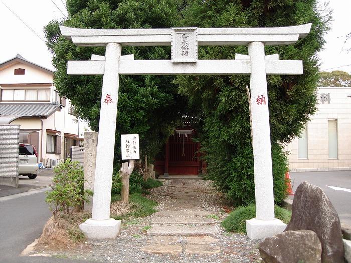 画像:青木稲荷神社仏閣