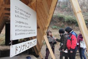 画像:2014/0301アートサイト八郷取材風景