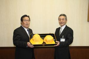 画像:2014/0313やさと農業協同組合 黄色い帽子