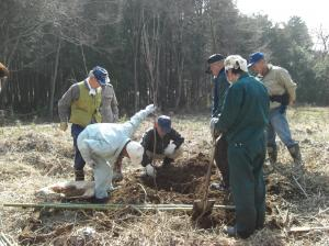 画像:植樹祭