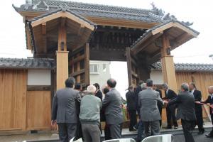 『11.30陣屋門開門』の画像