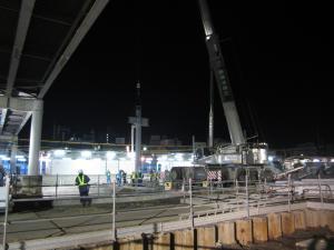 『夜間建て方1』の画像