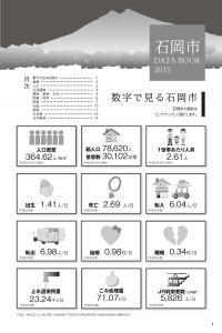 『市勢要覧2015資料編』の画像