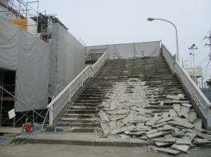 『西口階段撤去4』の画像