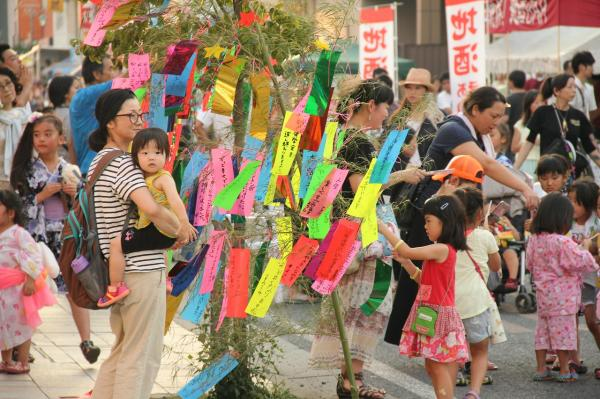 『2015_0725七夕まつり全景』の画像