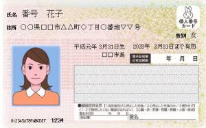 『『個人番号カード表(案)』の画像』の画像