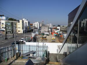 『旧駅舎解体』の画像