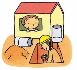 『排水設備工事』の画像