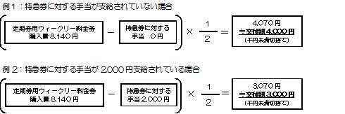 『支給例』の画像