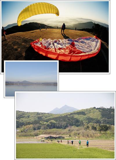 『空も山も水辺も!楽しめるレジャーが盛りだくさん』の画像