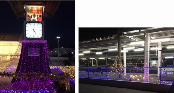 『11月記者会見(2)駅イルミ』の画像