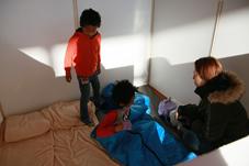 『【北小】避難生活疑似体験』の画像
