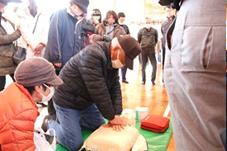『【北小】防災体験(応急手当)』の画像