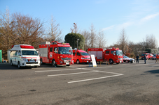 『【北小】防災体験(車両展示)』の画像