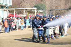 『【北小】散水訓練(消防団)』の画像