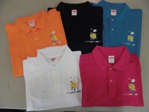 『ポロシャツ5色』の画像