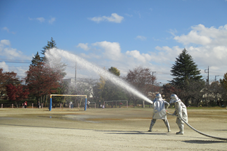 『【南小】散水訓練』の画像
