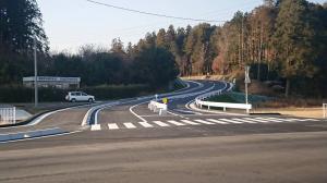 『国道355号線との交差点』の画像