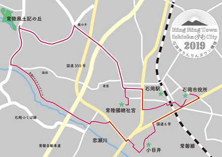『enjoy cycling コース図』の画像