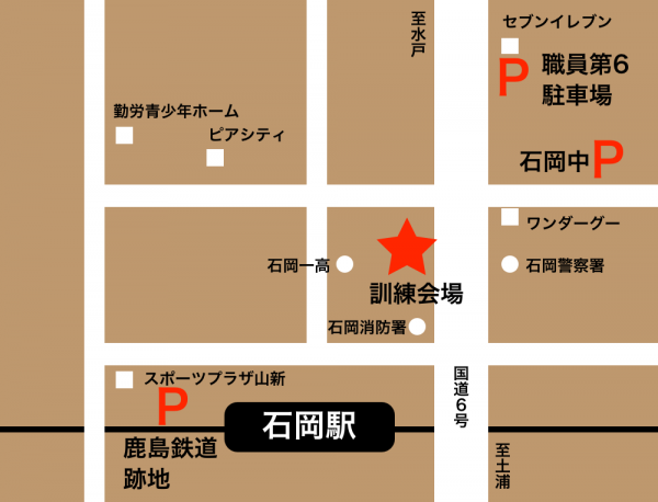 『総合防災訓練駐車場』の画像