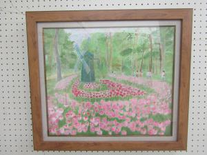 『日本画 春の陽ざし 奨励賞』の画像