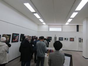 『第60回石岡市美術展 展示説明会』の画像