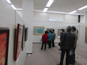 『第60回石岡市美術展 展示説明会(2)』の画像
