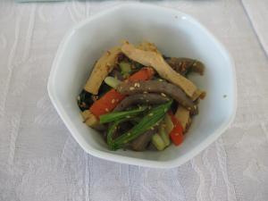 『『小松菜と高野豆腐の和え物』の画像』の画像