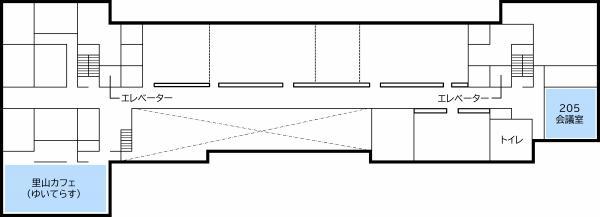 『支所フロアマップ2階(0728更新)』の画像