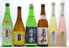 A-49 石岡地酒【日本酒・梅酒】飲み比べセットの画像
